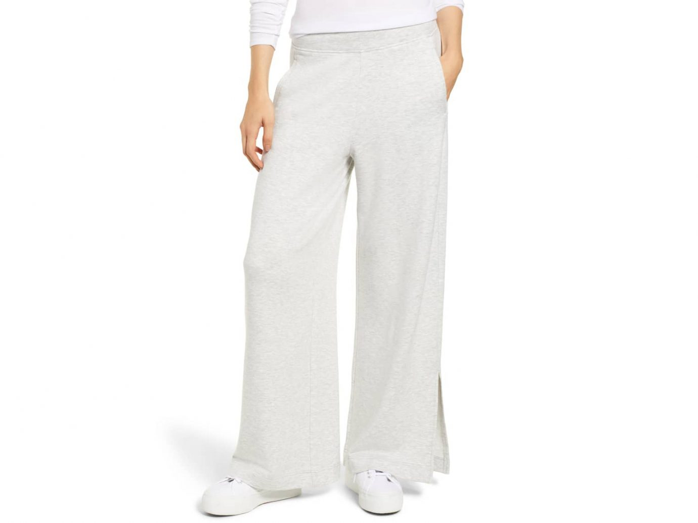 Zen Bounce Wide Leg Sweatpants LOU & GREY