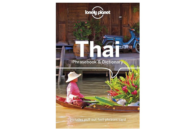 Thai phrasebook by Lonely Planet