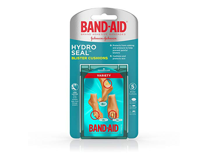 Band-Aid Brand Hydro Seal Blister Cushion Bandages, Variety Pack of Waterproof Blister Pads