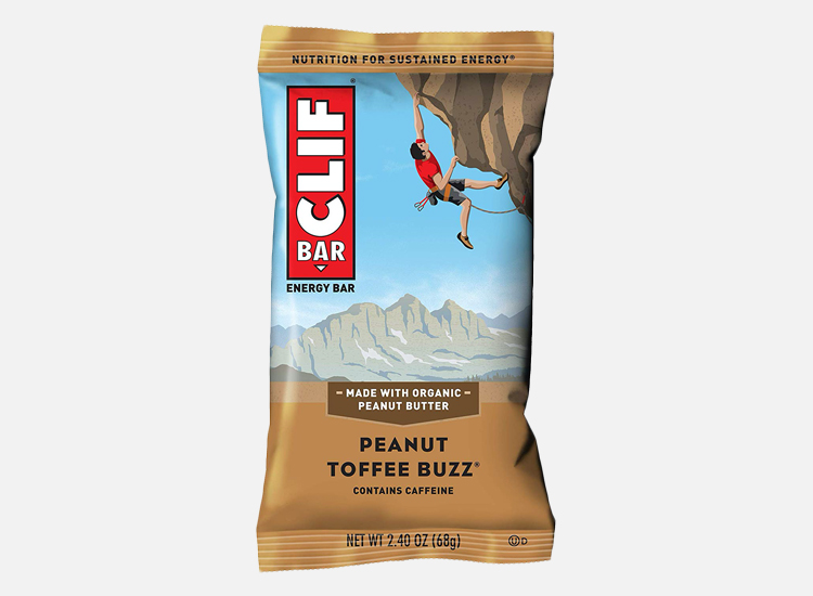CLIF BAR - Energy Bars - Peanut Toffee Buzz.