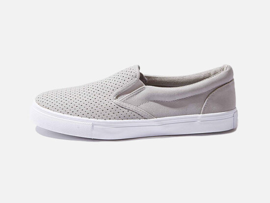 DailyShoes Unisex Flat Memory Foam Cushioned Insole Casual Slip-On Loafers.