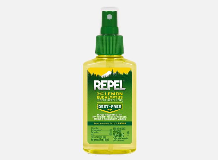 REPEL Plant-Based Lemon Eucalyptus Insect Repellent.