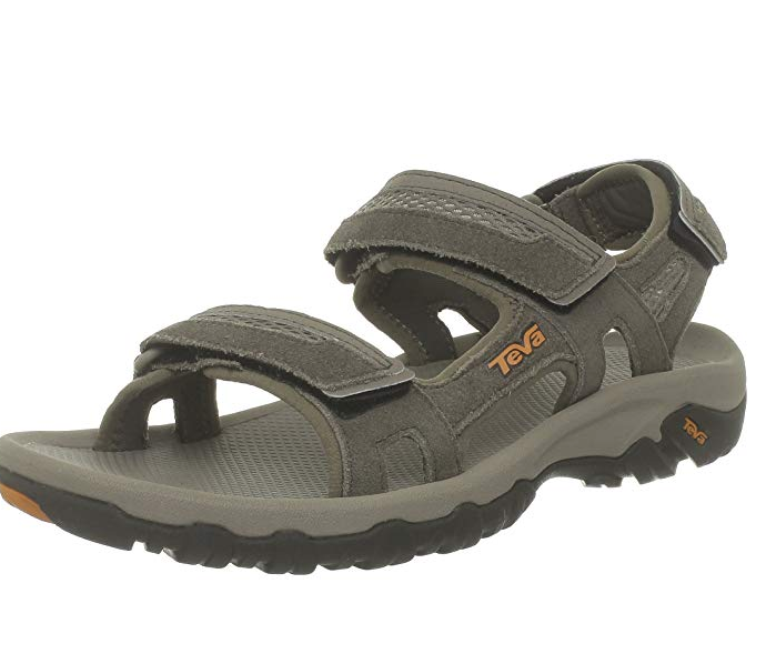 Sandals for active hiking.