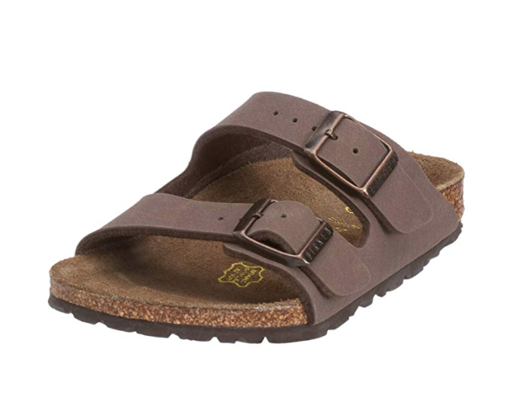 Great shoe for summer vacation: Birkenstock Arizona Soft Footbed Leather Sandal