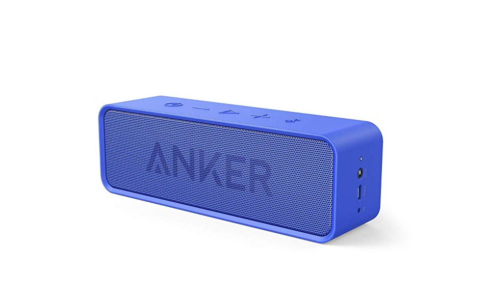 Great for travel: portable speakers