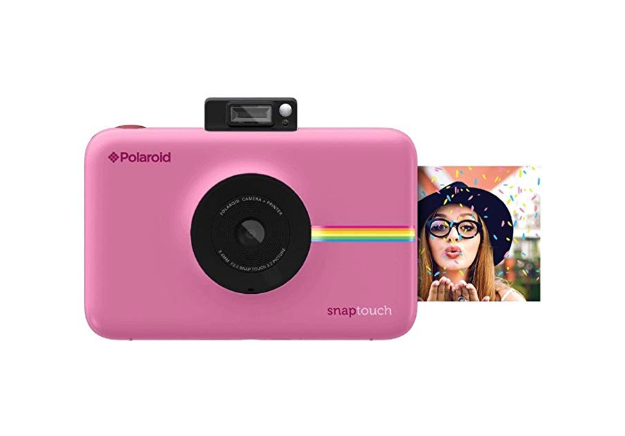 Great for travel: polaroid camera