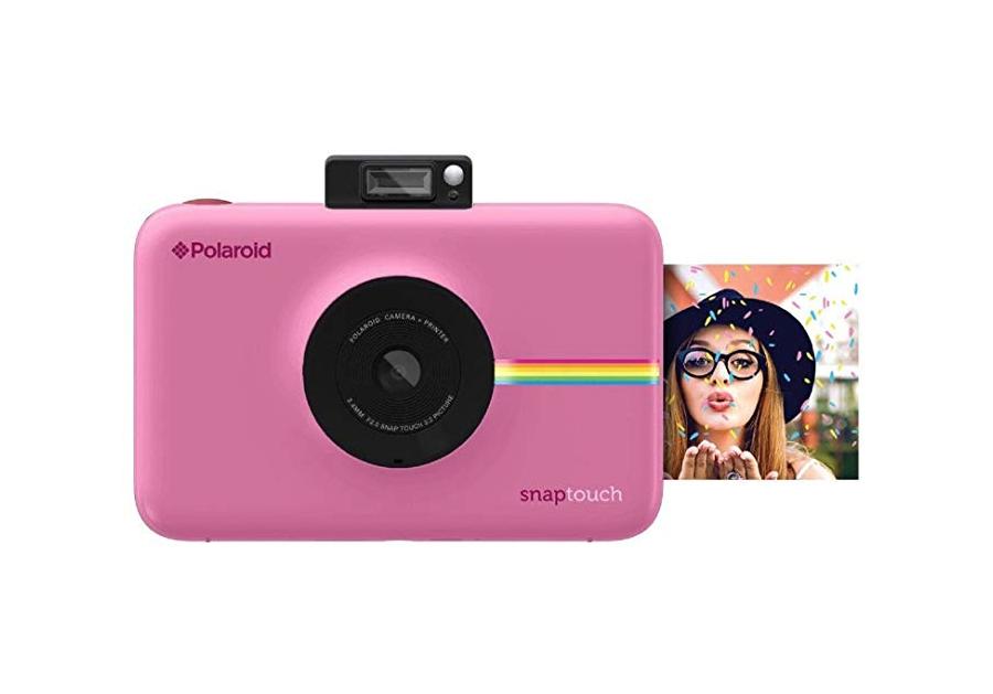 Great for travel: polaroid camera
