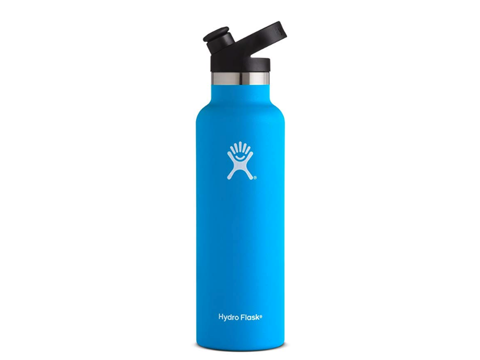 Hydro Flask 21 oz Double Wall Vacuum Insulated Stainless Steel Sports Water Bottle,