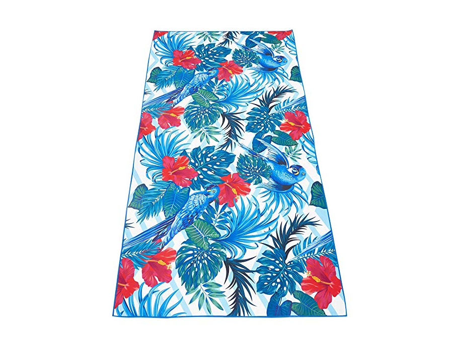 Microfiber Beach Towel for Travel - Quick Dry, Sand Free