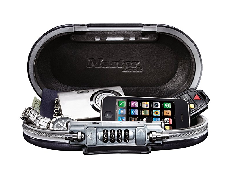 Portable safe by Masterlock