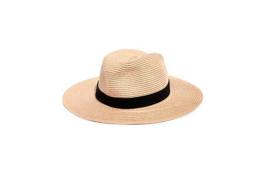 Packable Mesa Straw Hat Madewell