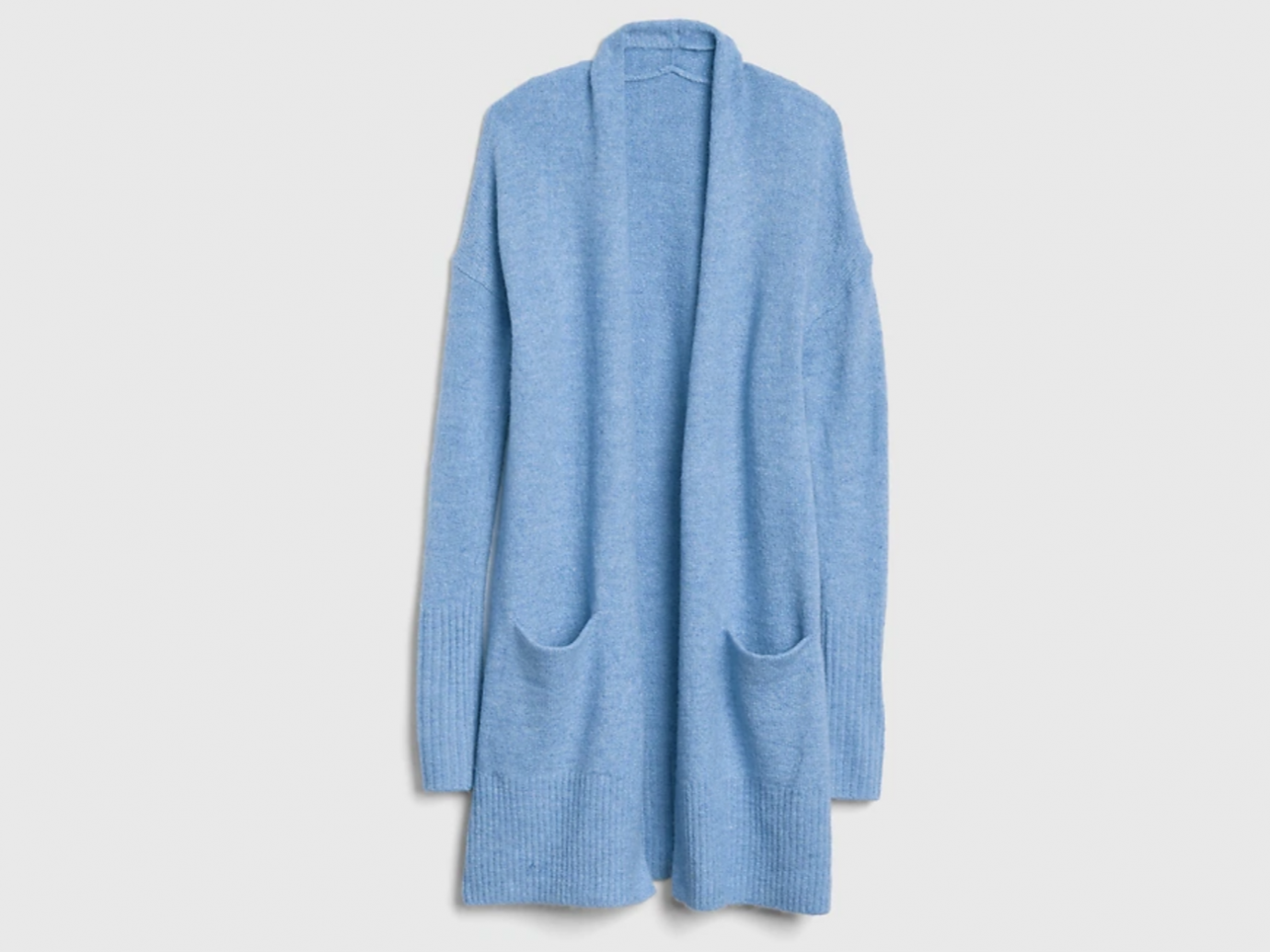 GAP Longline Open-Front Cardigan Sweater