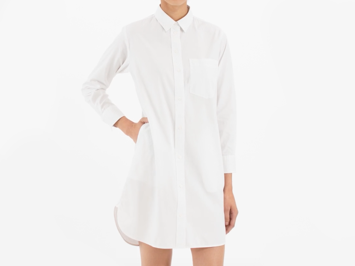 The Cotton Shirtdress Everlane