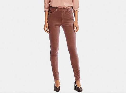 uniqlo WOMEN HEATTECH HIGH-RISE VELVET LEGGINGS PANTS