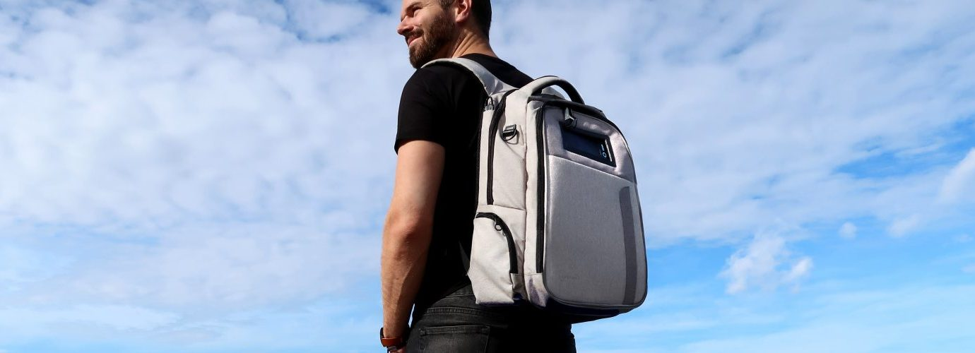 Solgaard solar powered backpack