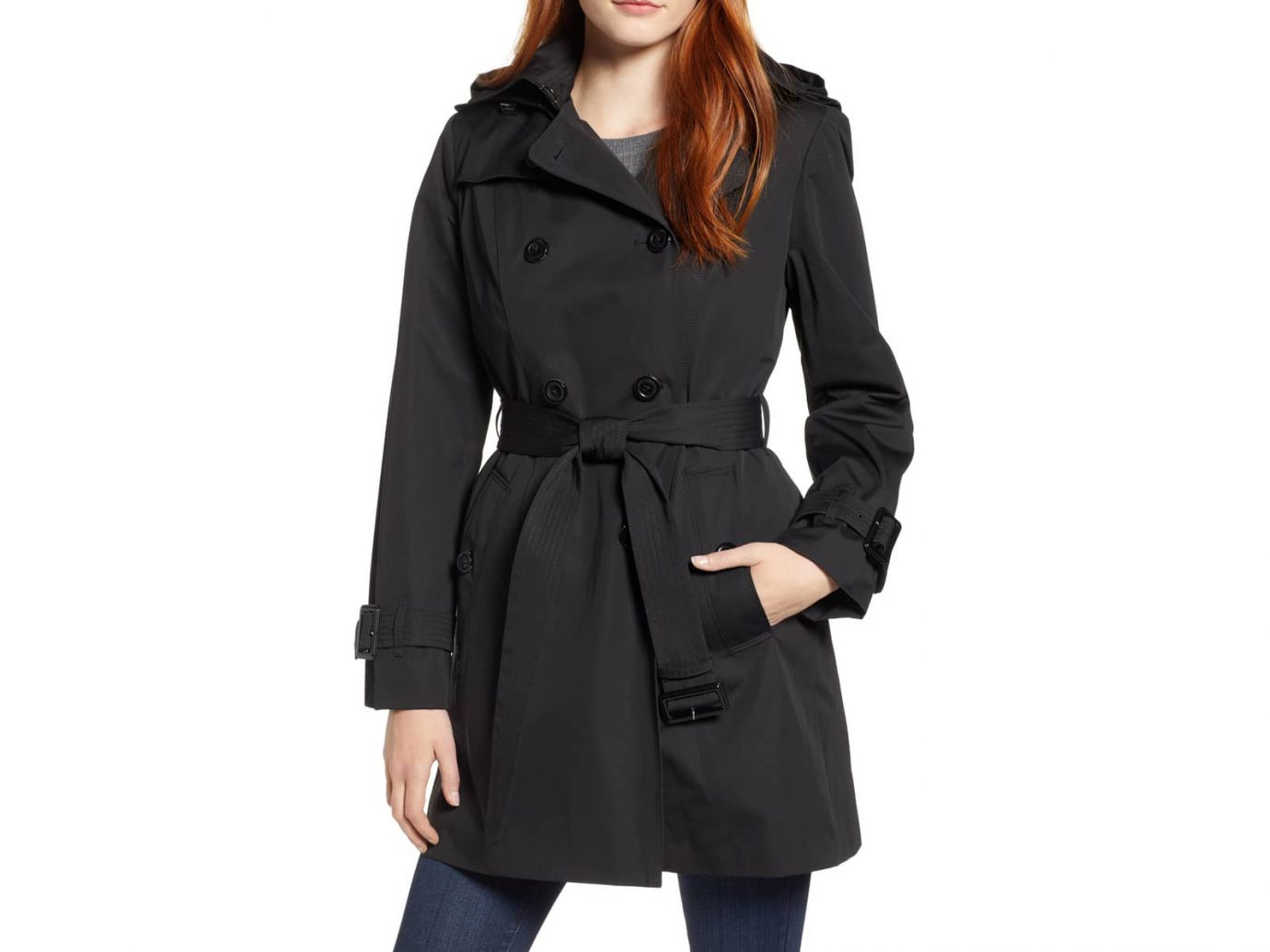 Trench Coat with Detachable Liner & Hood LONDON FOG