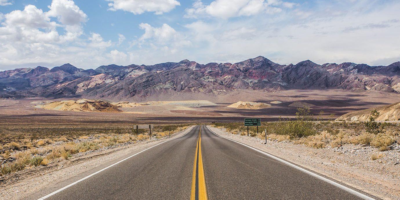 Road trip scene