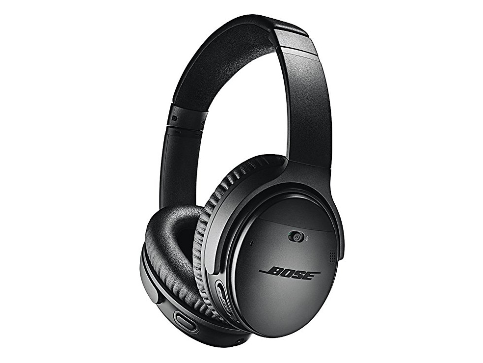 Bose QuietComfort 35 (Series II) Wireless Headphones, Noise Cancelling, with Alexa voice control