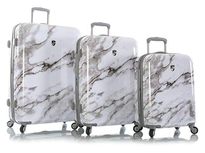 Heys Carrara White Marble Fashion Spinner 3pc. Set