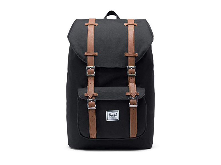 Herschel Little America Mid-Volume Backpack-Black