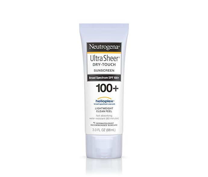 Neutrogena Ultra Sheer Dry-Touch Water Resistant and Non-Greasy Sunscreen Lotion with Broad Spectrum SPF