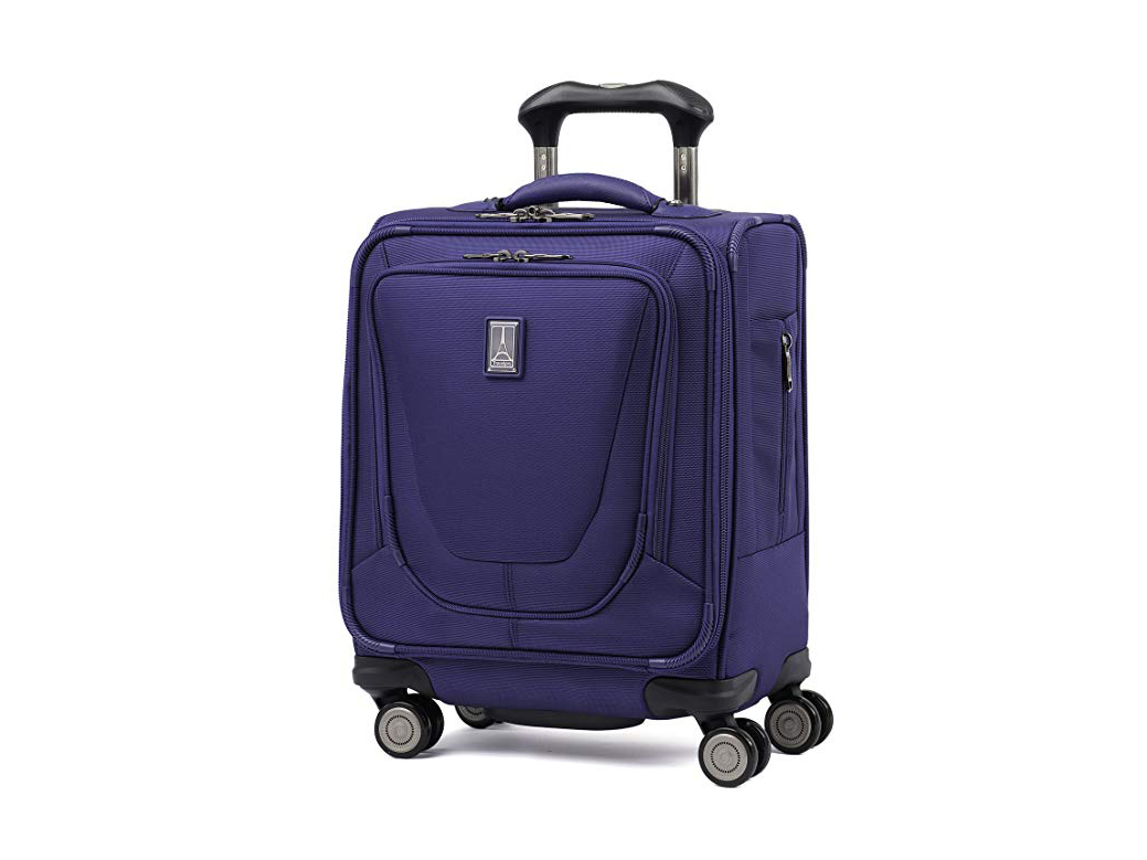 "Travelpro Luggage Crew 11 16"" Carry-on Spinner Tote, Indigo"