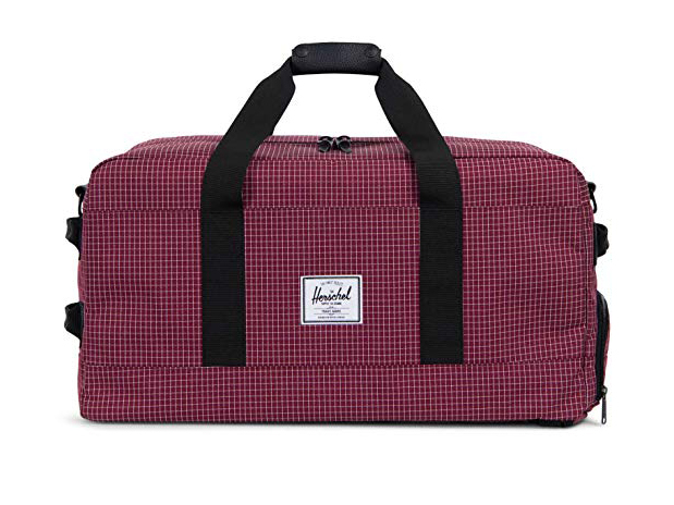Herschel Supply Co. Outfitter Travel Duffle, Windsor Wine Grid
