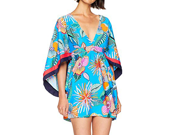 Trina Turk Women's V-Neck Tunic Dress