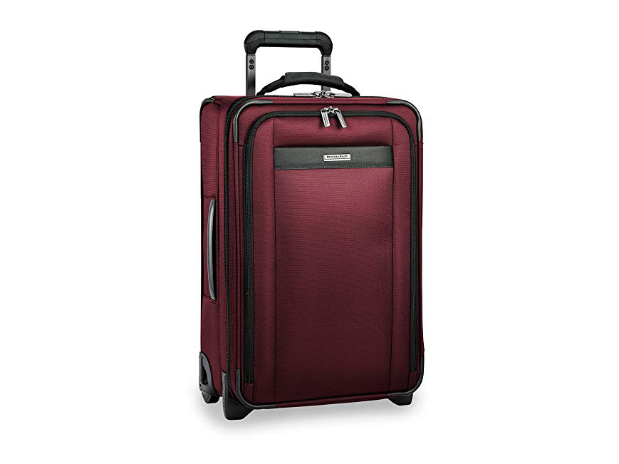 Briggs & Riley Transcend Tall Carry-on Expandable Upright, Merlot