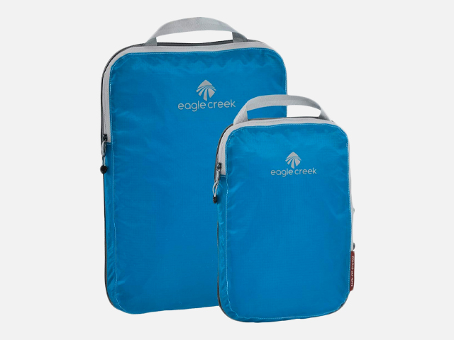 Eagle Creek Pack-It Specter Compression Packing Cubes.