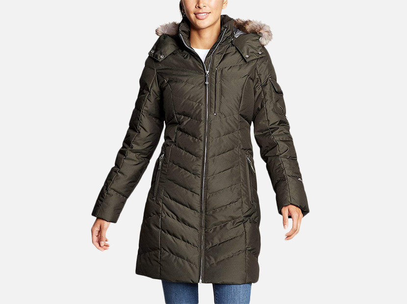 Eddie Bauer Women's Sun Valley Down Parka.