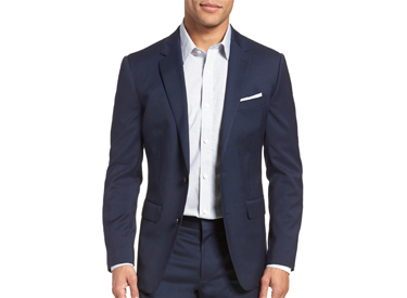 Jetsetter Slim Fit Stretch Wool Blazer BONOBOS.