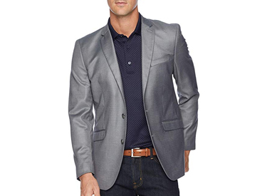Kenneth Cole Reaction Techni-Cole Stretch Suit Separate Blazer.