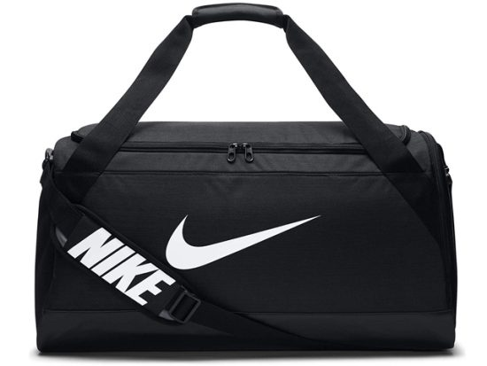 NIKE Brasilia Medium Training Duffel Bag Black