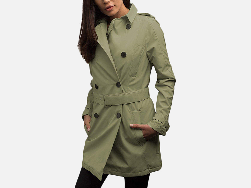 SCOTTeVEST Women's Trench Coat.