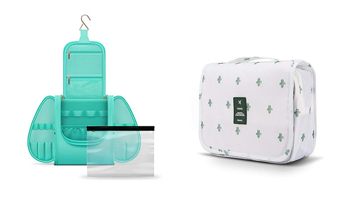 Multi-compartment toiletry bags