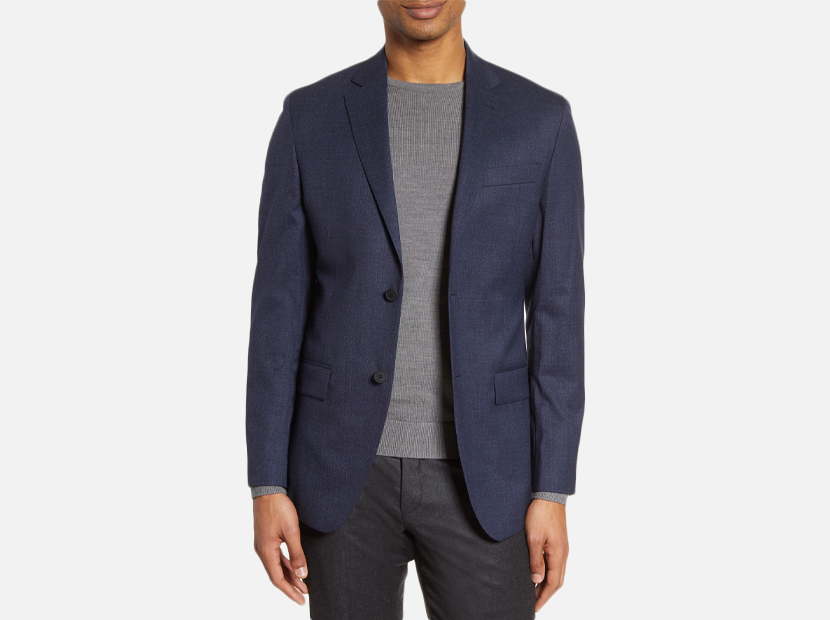 Trim Fit Stretch Wool Blazer NORDSTROM MEN'S SHOP.