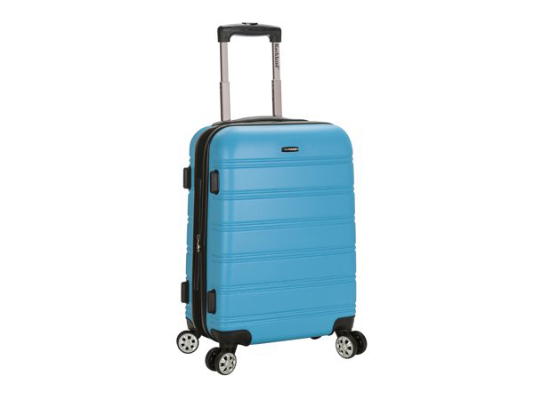 "Rockland Rockland Luggage Melbourne 20"" Hard Sided Expandable Carry On Luggage"