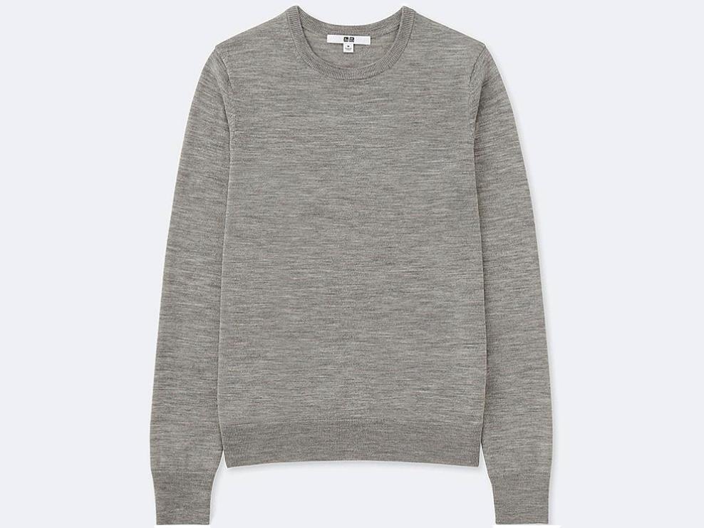 Uniqlo's Extra Fine Merino Crewneck Sweater