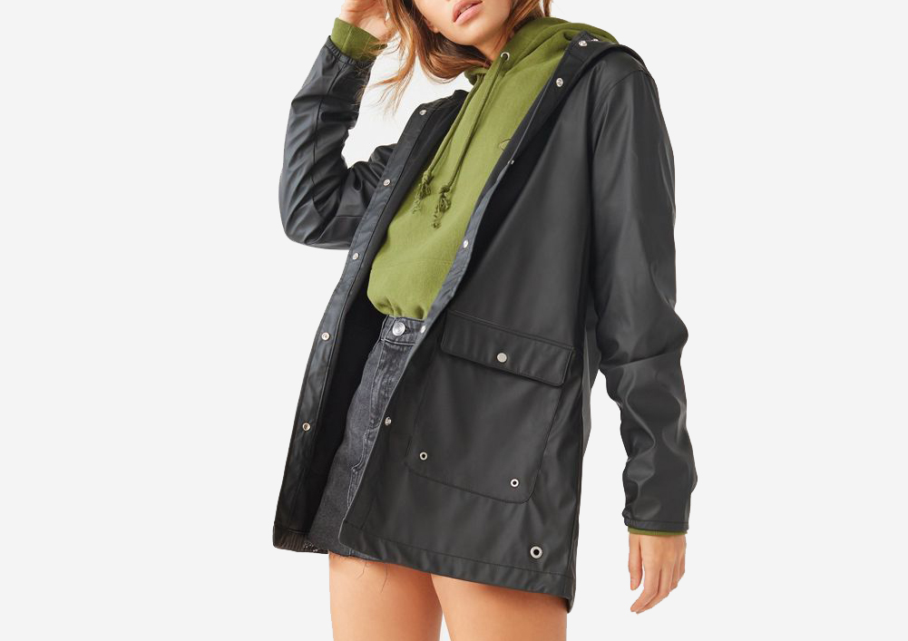 Herschel Supply Co. Forecast Rain Coat