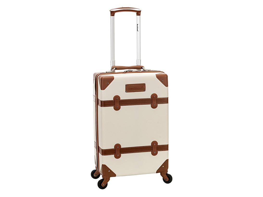 Rockland Stage Coach 20 Inch Rolling Trunk