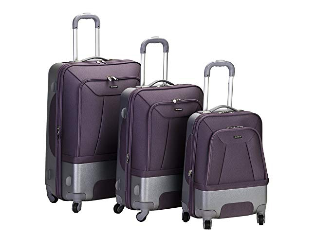 Rockland Luggage Rome. Three-Piece Set