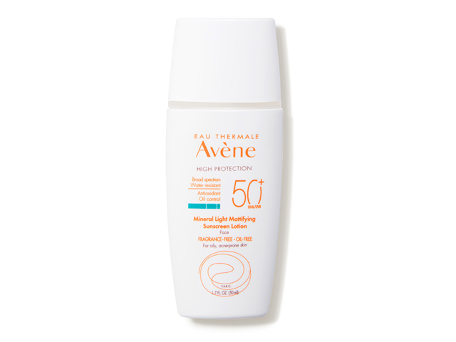 Avene Reef Safe Mineral Light Mattifying Sunscreen Lotion SPF 50