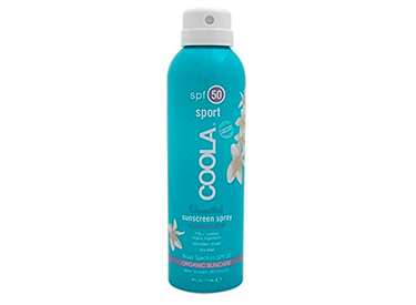 COOLA Organic Suncare, Eco-Lux Size, Unscented Sport Sunscreen Spray, SPF 50