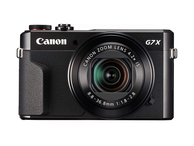 Canon PowerShot Digital Camera [G7 X Mark II] with Wi-Fi