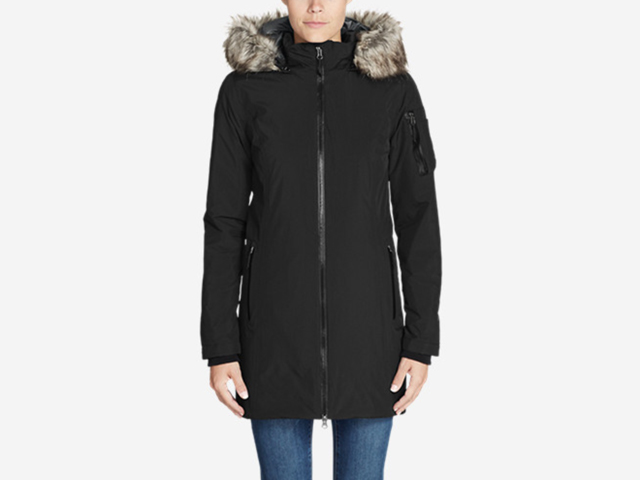 Eddie Bauer Black Women's BC Evertherm Down Parka