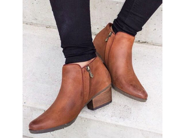 Light Brown Blondo Villa Waterproof Bootie Zappos