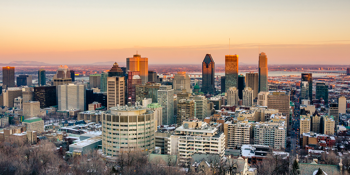 Perfect Packing List for Montreal, Montreal Skyline Sunset