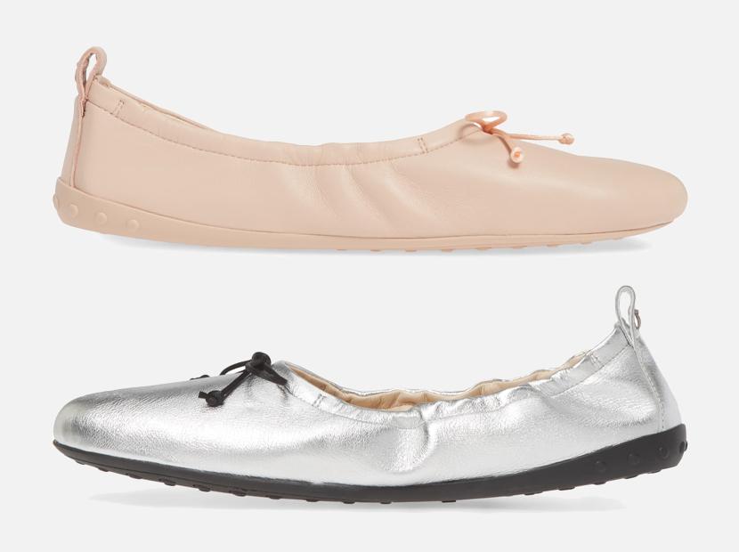 Scrunch Ballet Flat TOD'S.