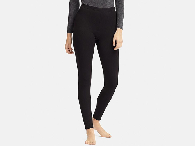 Uniqlo Black WOMEN HEATTECH ULTRA WARM LEGGINGS